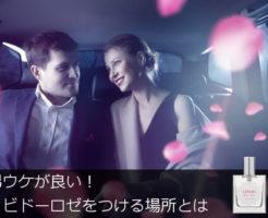 車中のカップル